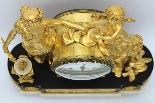 Antique Louis XVI Pendulum Clock in bronze - 18th century-11