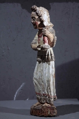 Paire de candélabres d'anges, Sienne, sec. XV-3