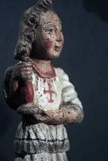 Coppia di angeli portaceri, Siena, sec. XV-5