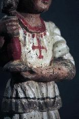 Paire de candélabres d'anges, Sienne, sec. XV-2