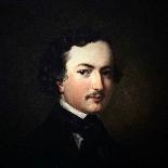 fine art oil painting, portrait of a gentleman American-2