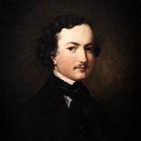 fine art oil painting, portrait of a gentleman American-1