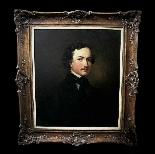 fine art oil painting, portrait of a gentleman American-0