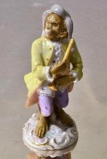 Porcelain monkey orchestra - Germany, end of '800-11
