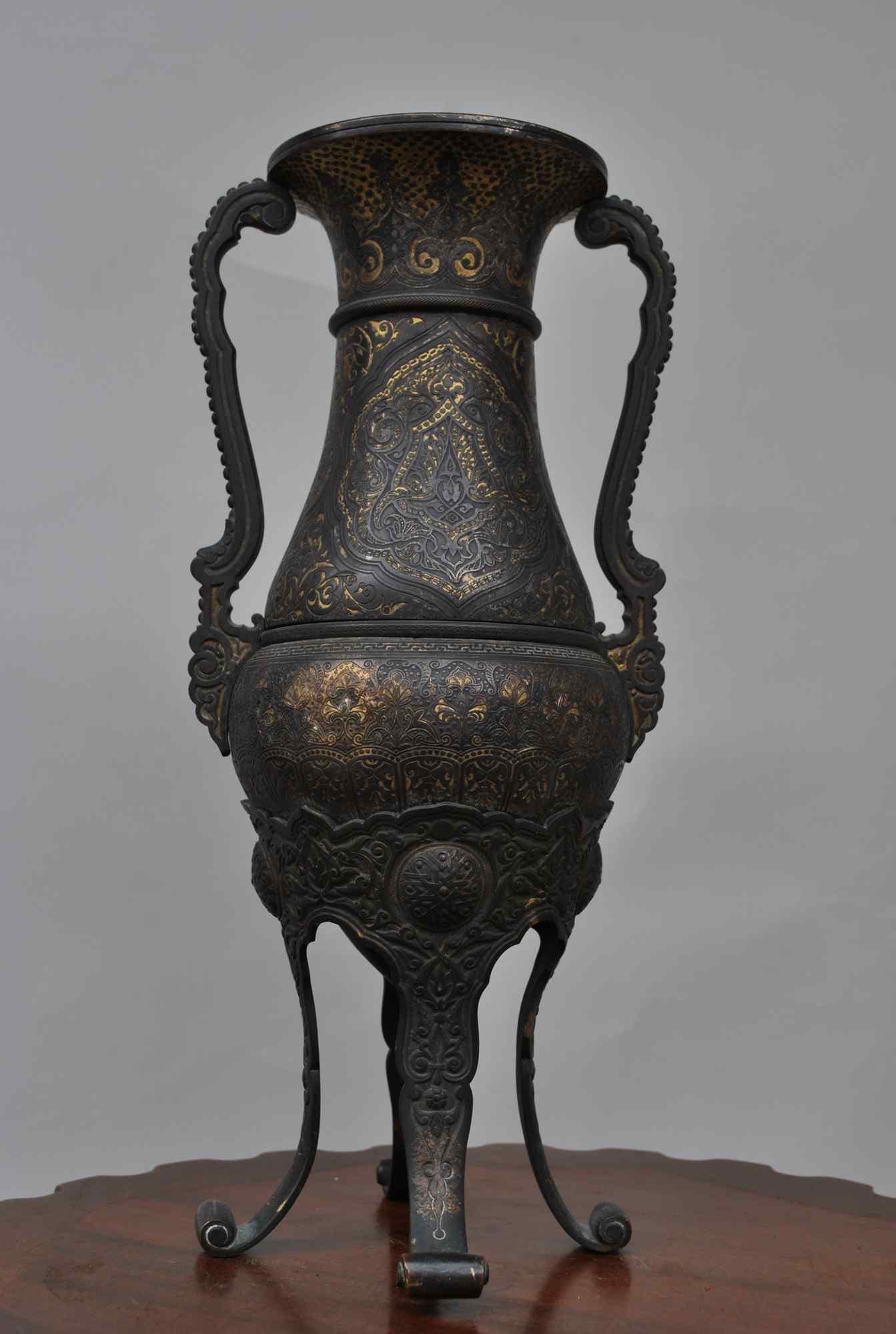 Zuluoaga vaso damasceno, fine XIX
