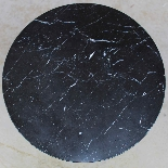 Antico Tavolino Comodino a Cilindro Impero in mogano-XIX sec-6