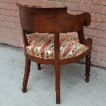Antique Charles X Armchair in mahogany - 19th century-8