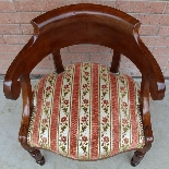 Antique Charles X Armchair in mahogany - 19th century-6