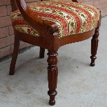 Antique Charles X Armchair in mahogany - 19th century-9