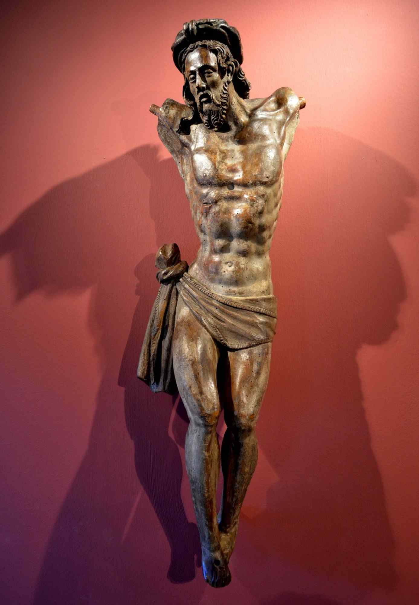 Important wooden sculpture, German sculptor of the 1500s