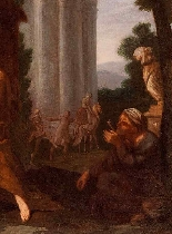 Rest on the flight into Egypt, Giuseppe Passeri-2