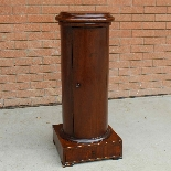 Antique Empire Somno Column in walnut - Italy 19th century-1