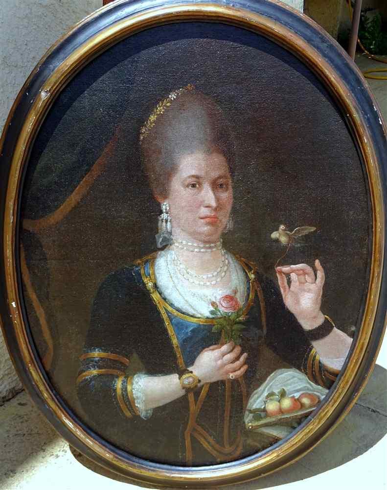 The Countess Hummingbird, Important Portrait 17th