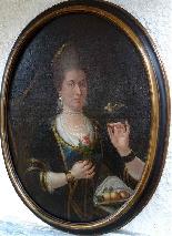 The Countess Hummingbird, Important Portrait 17th-0