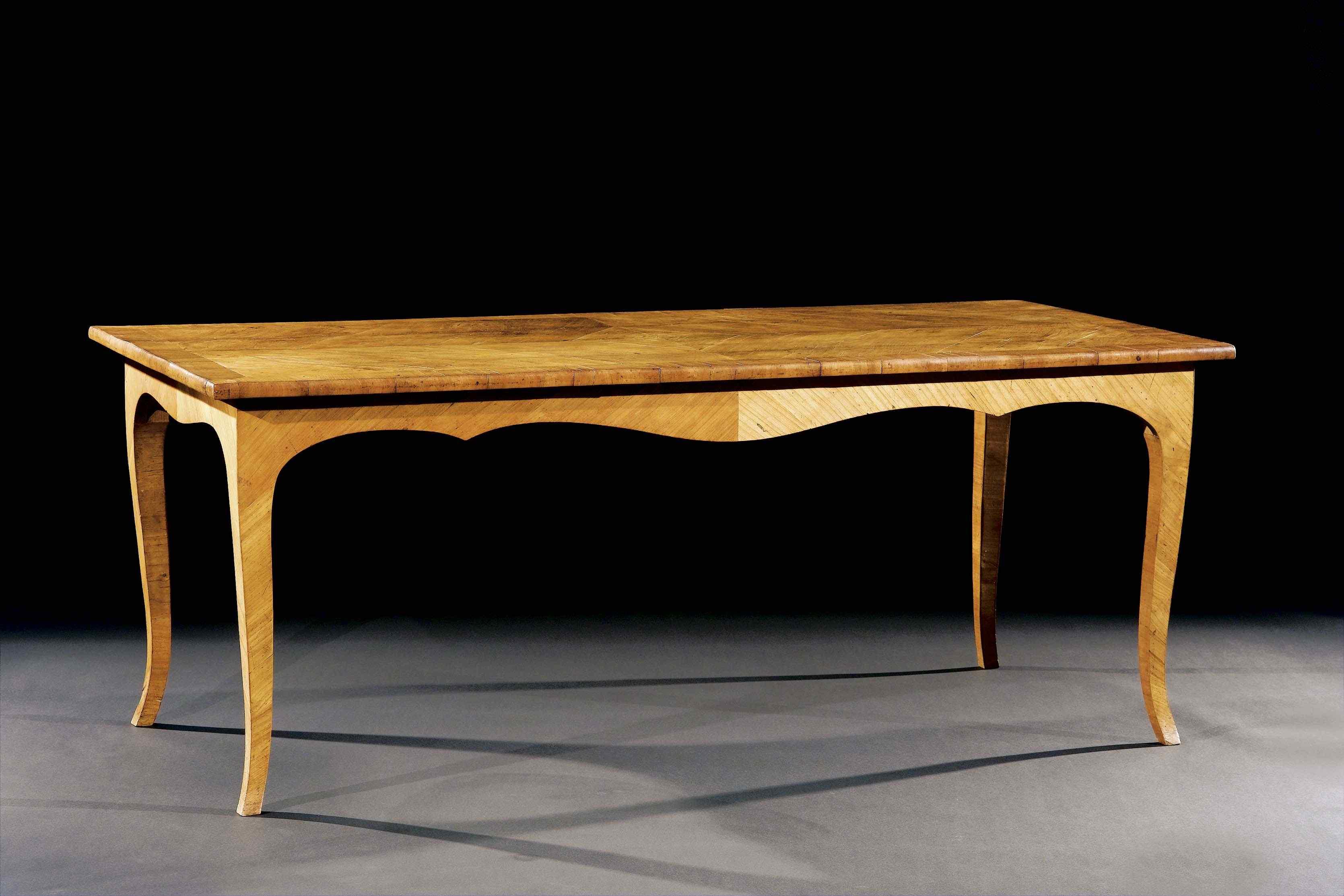 Antico tavolo da pranzo anticswiss - Altezza tavolo da pranzo ...