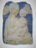 Bas-relief in refined terracotta-0
