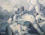 Gruppo di Putti alati, Scuola Francese di Francois Boucher-1