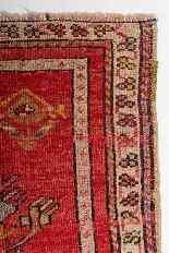 Pair of Antique Kirshehir Prayer Little Carpets-9