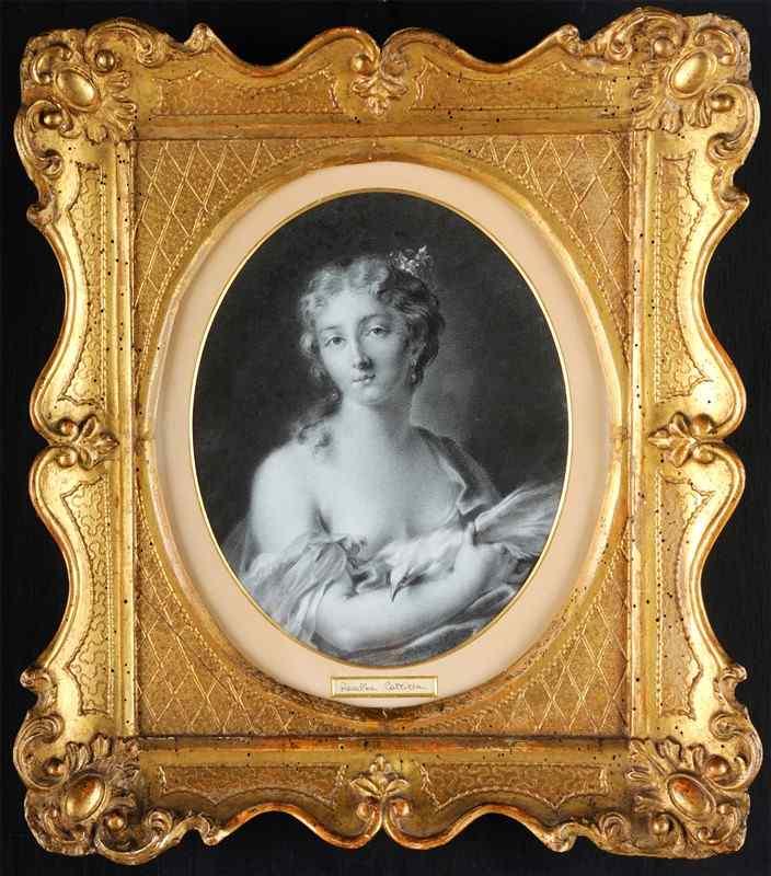 Rosalba Carrière, Allégorie du Printemps, 18ème siècle