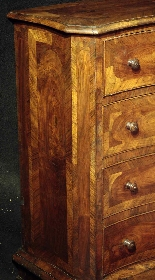 Inginocchiatoio lastronato, Toscana, Luigi XV-2