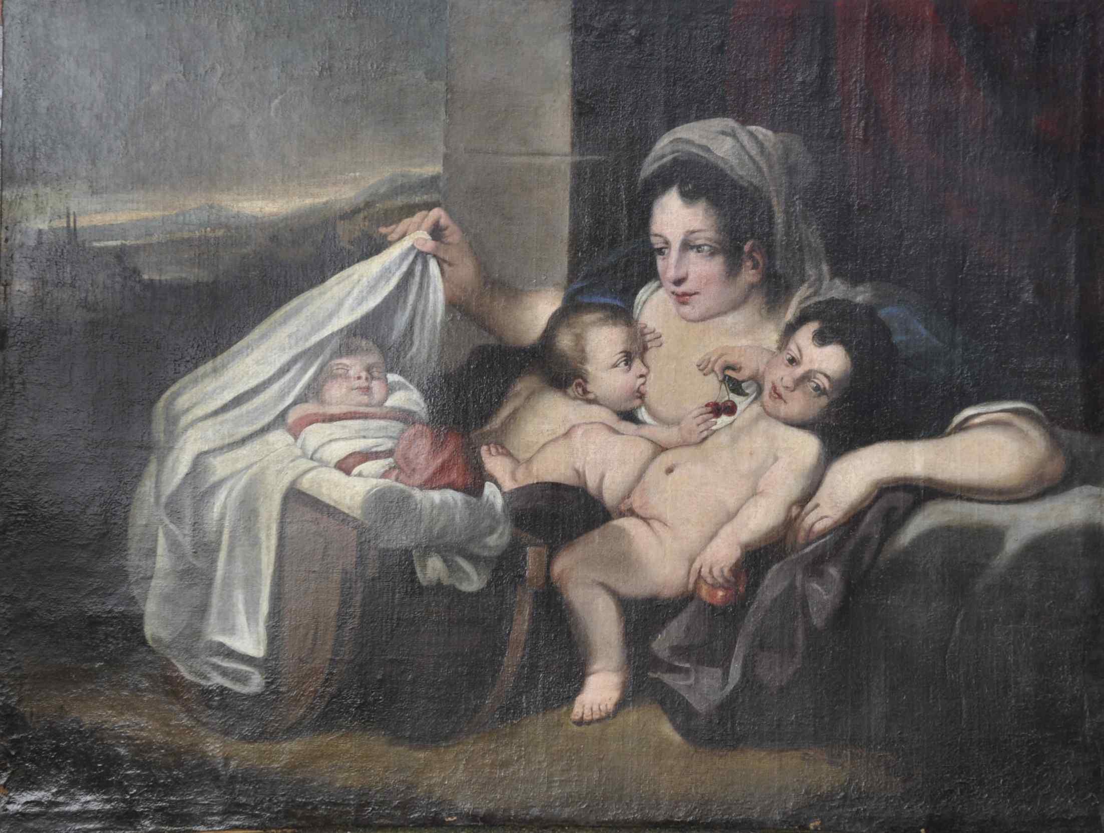 Allegoria della Carità Carlo Cignani