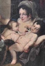 Allegoria della Carità Carlo Cignani-1