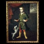 Ritratto di bambino col cane, Veneto, XVII secolo-6