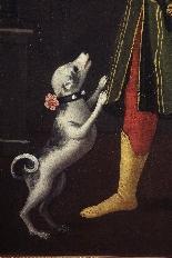 Ritratto di bambino col cane, Veneto, XVII secolo-4