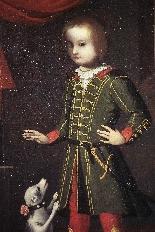 Portrait d'un enfant avec un chien, Vénétie, 17ème siècle-2