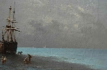 Henri Van Wyk, pescatori nella baia di Mont-Saint-Michel.-6