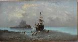 Henri Van Wyk, pescatori nella baia di Mont-Saint-Michel.-7