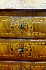 ANCIEN MOBILE A RIBALTA LOMBARDIE LUIGI XVI-1