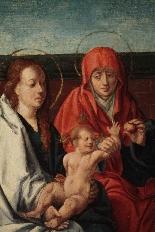 Vergine con Bambino e S.Anna, maestro Fiammingo, c. 1520-1
