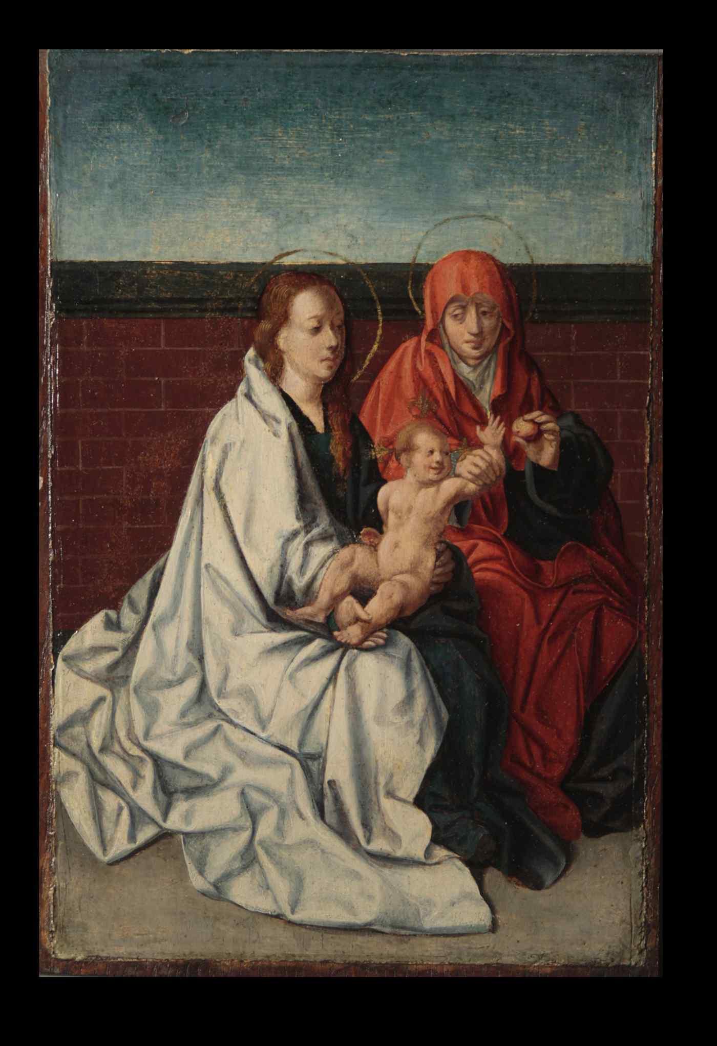 Vergine con Bambino e S.Anna, maestro Fiammingo, c. 1520