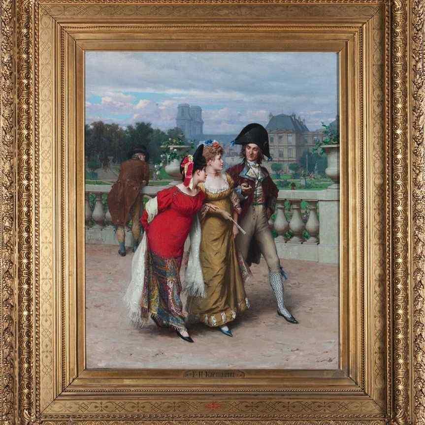 FHKAEMMERER (1839-1902), Peinture ancienne