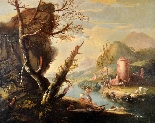 Paysage fluvial - Francesco Zuccarelli (1702 - 1788)-9