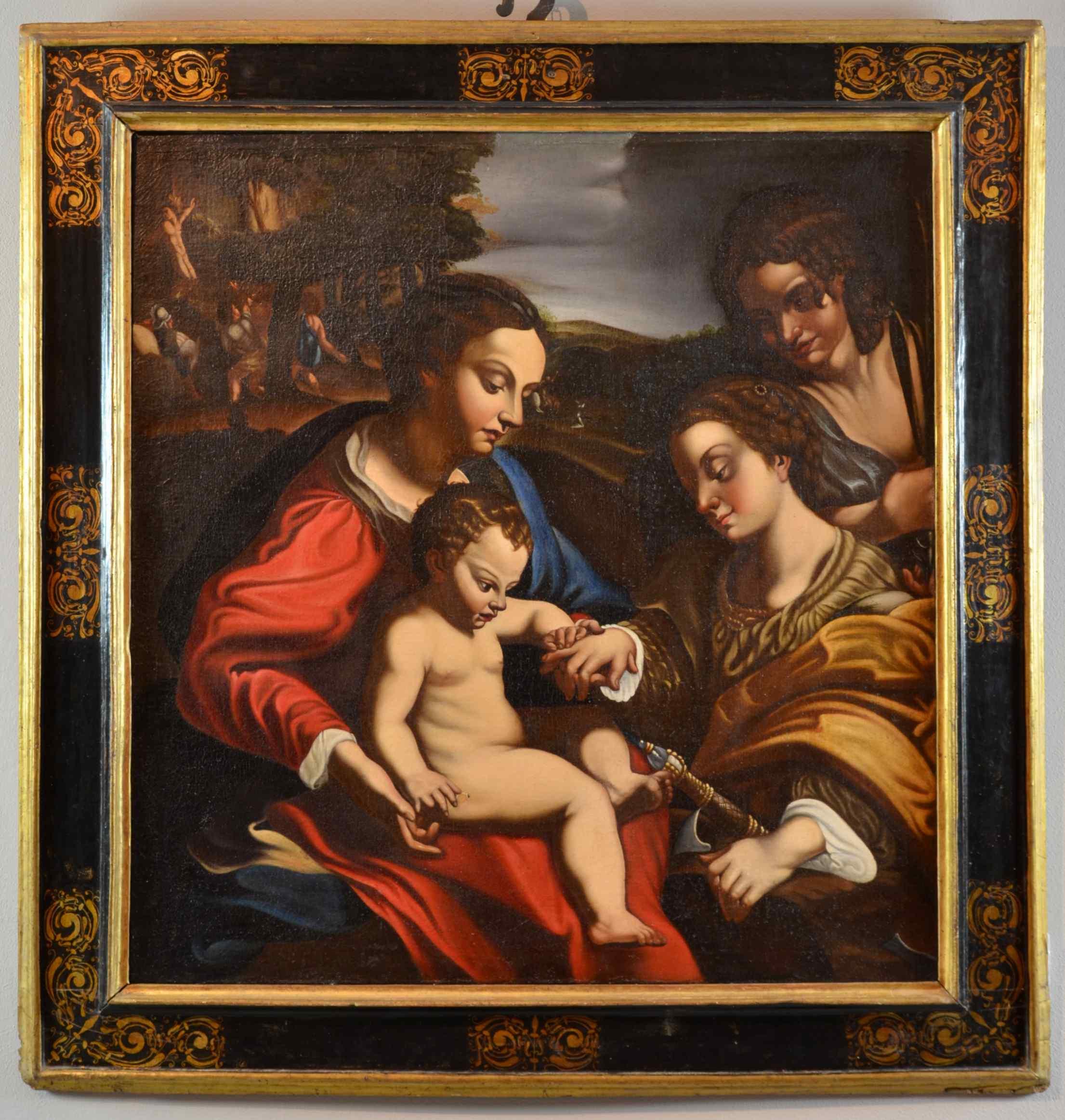 Mariage Mystique De Sainte-catherine d'Alexandrie