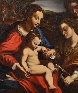Mariage Mystique De Sainte-catherine d'Alexandrie-9