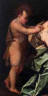 XVI secolo, Madonna con Bambino e San Giovanni, Tavola-3