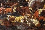 Johann Heinrich ROOS - Paesaggio romano con scena agreste-5