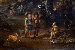 Paesaggio en plen air firmato J. Z. Blijhooft fecit 1668-3