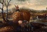 Paesaggio en plen air firmato J. Z. Blijhooft fecit 1668-6