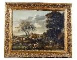 Paesaggio en plen air firmato J. Z. Blijhooft fecit 1668-1