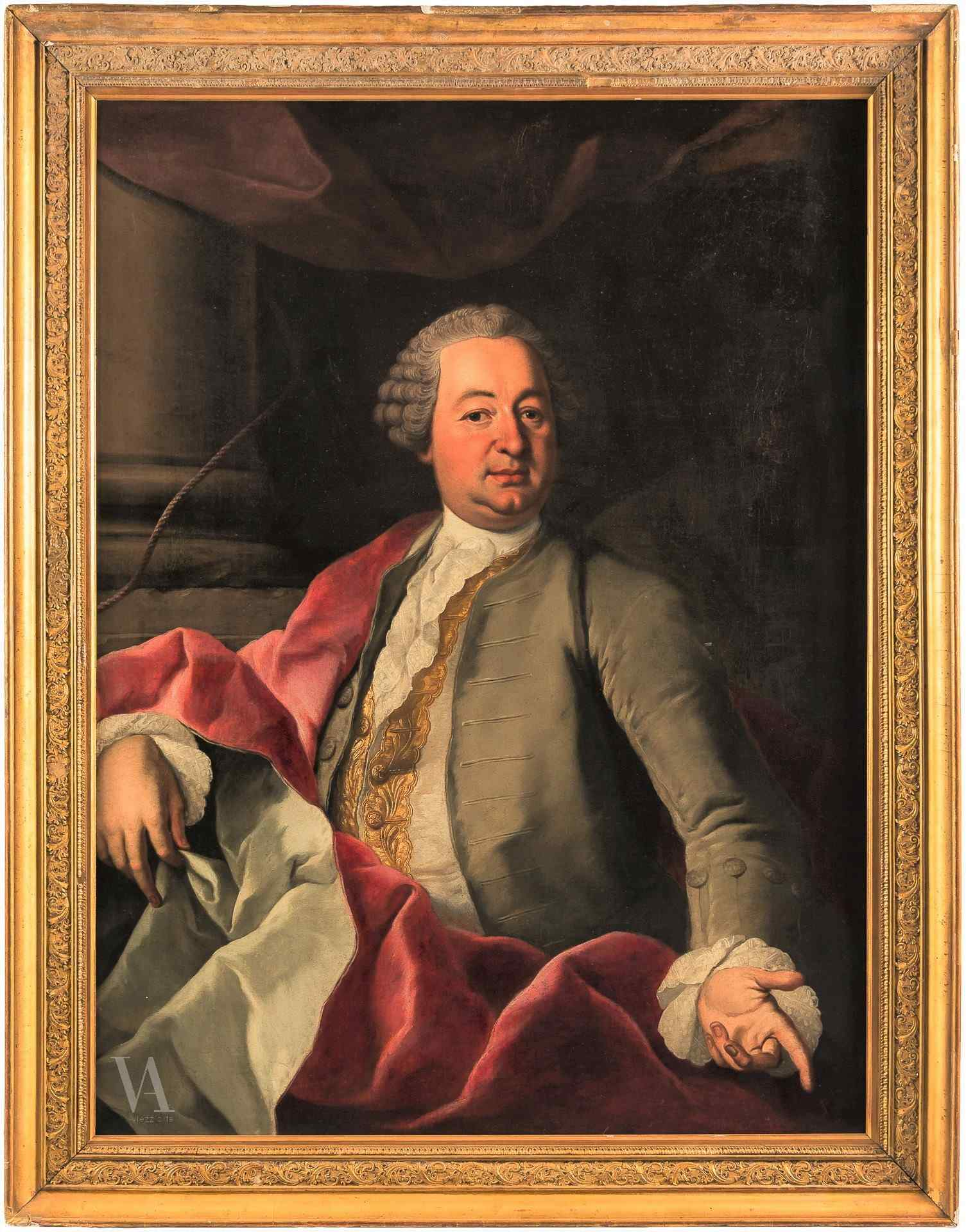 Neapolitan master of the eighteenth century, Portrait of a n