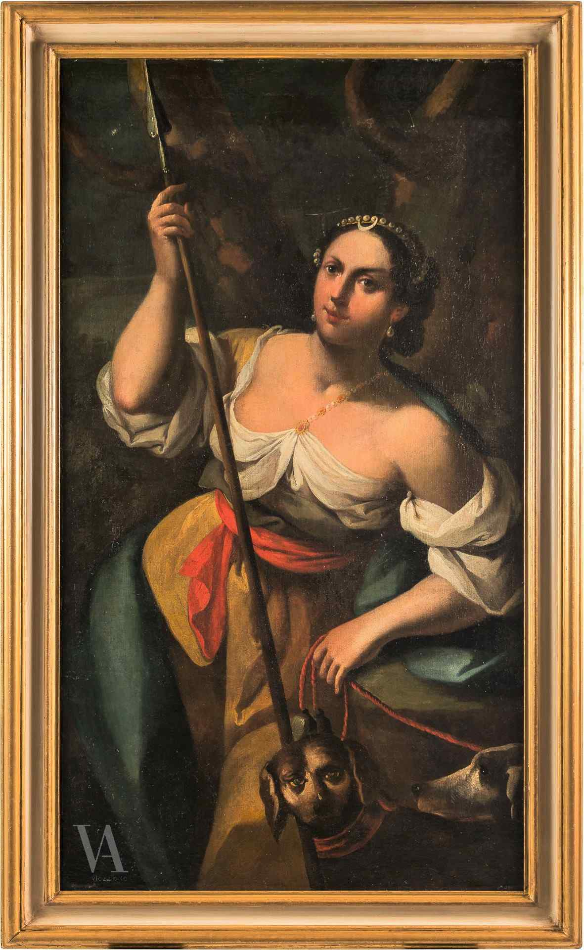 Simone Brentana, chasseresse Diane, 18ème siècle