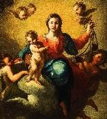 Madone en gloire avec l'Enfant et les Anges-1